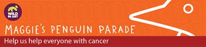 Maggie's Penguin Parade Logo